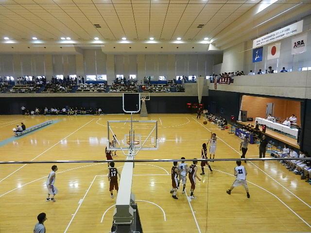 高校バスケ県体 110