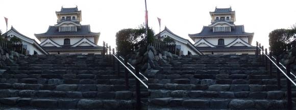 長浜城③(平行法)