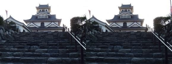 長浜城③(交差法)