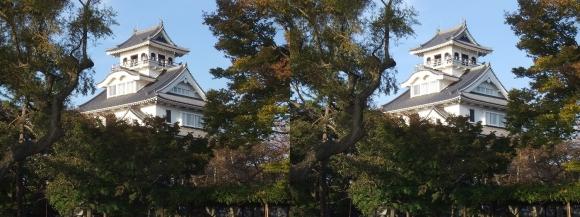 長浜城①(平行法)