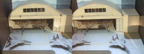 龍遊館 F-15イーグル(平行法)