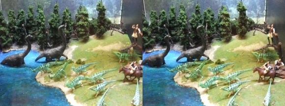 龍遊館 恐竜王国①(平行法)
