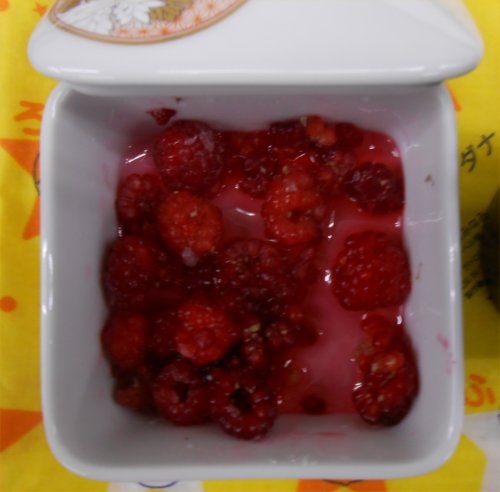 04 500 20141006 raspberry02 砂糖漬け