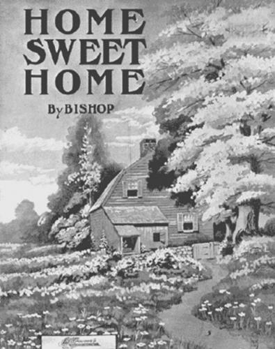 05 500 1914出版:埴生の宿楽譜の表紙