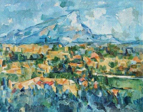 01 500 サント・ヴィクトワール山 by Cezanne