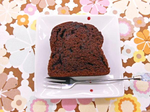 600 20141023~Cake:チョコレートパウンドケーキ