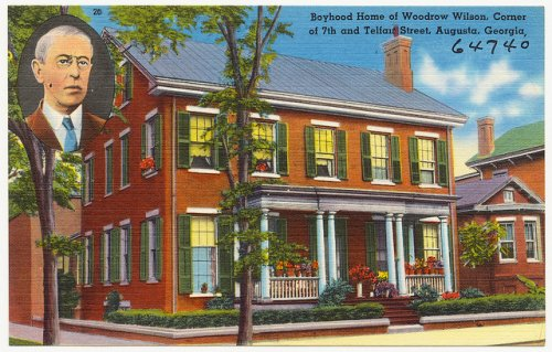 00 Woodrow Wilson Home