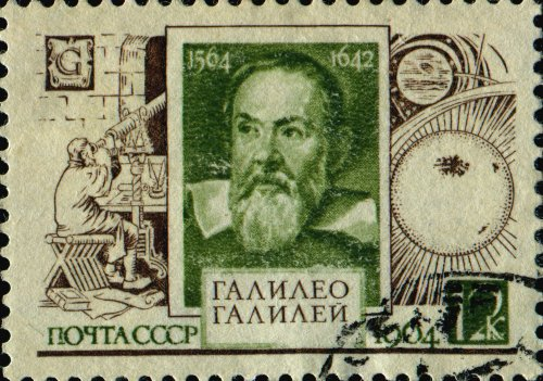 00 500 Galileo Galilei stamp