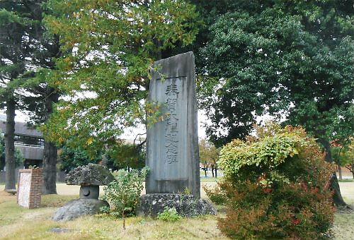 08 500 20141031 大礼記念碑のドウダンツツジ紅葉