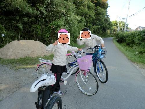 親子でサイクリング日和・2
