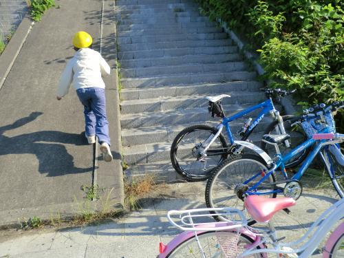 親子でサイクリング日和・9