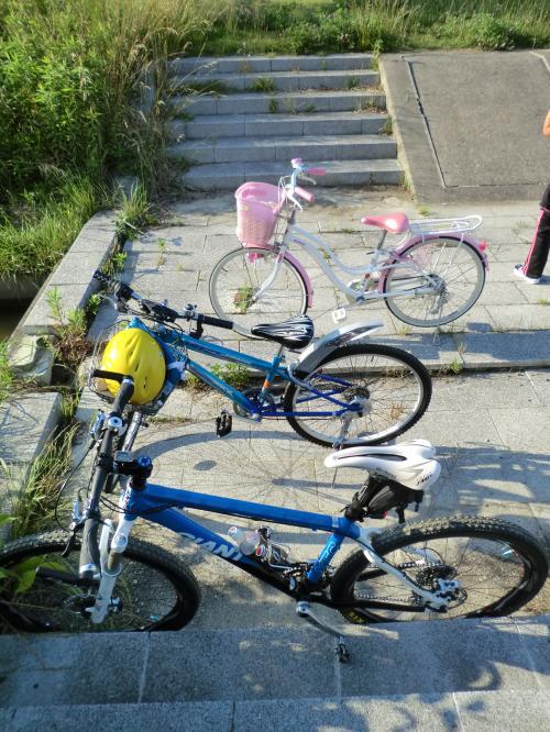 親子でサイクリング日和・13