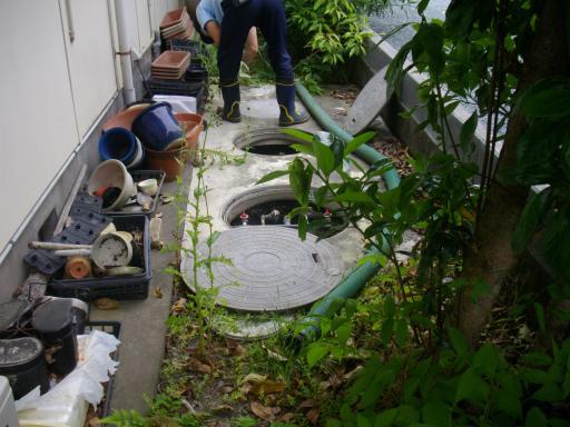 浄化槽の清掃2