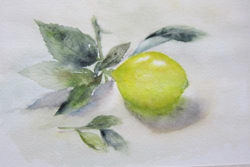 黄色くなったレモン (2)