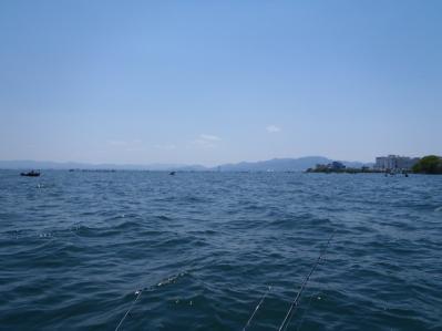 昼の琵琶湖