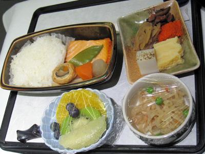 機内食 和朝食