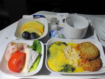 機内食 洋朝食