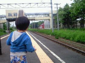 電車待ち~の、