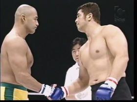 高田延彦vsアレクサンダー大塚