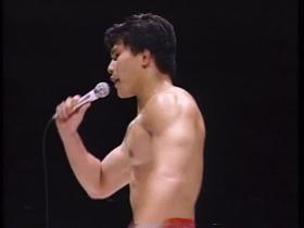そして田村はマイクを持った