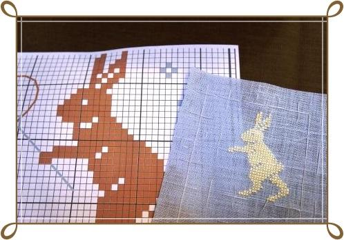 0517うさぎとハサミのウサギ