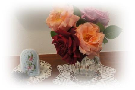 0608バラの切り花