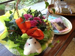 小野さんからのお祝い