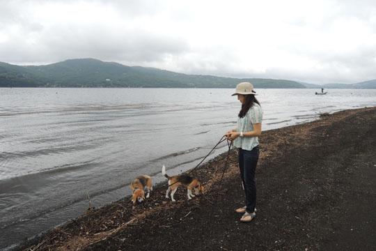 014湖畔散歩2