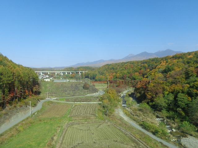 八ヶ岳遠景