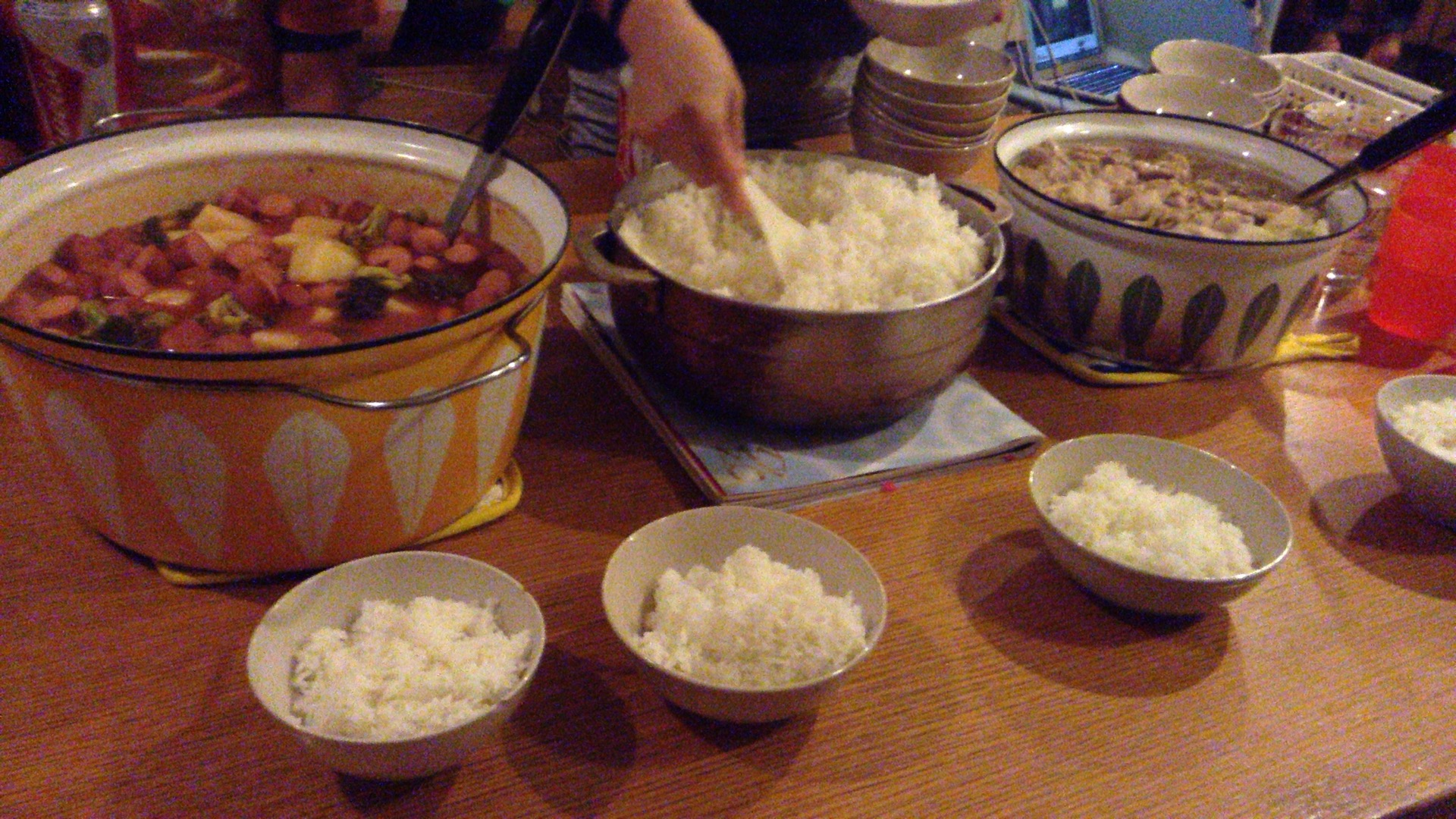 moon palace 鍋パーティー1