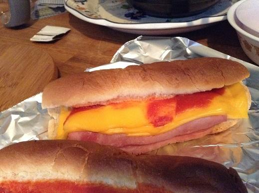 10月15日の朝食、完成品