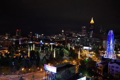 アトランタの夜景 1