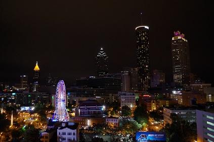 アトランタの夜景 2