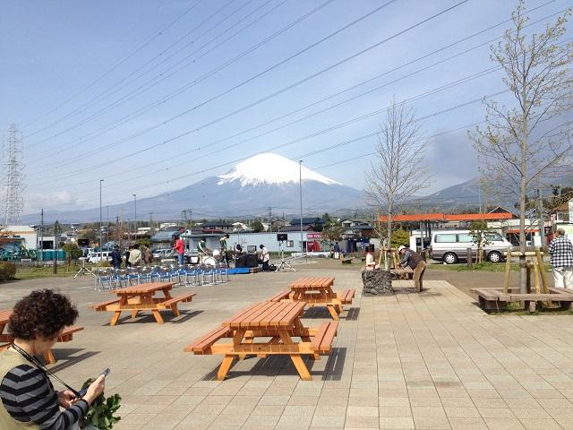 富士山 (道の駅 ふじおやま)