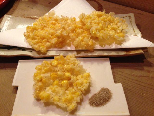 とうきび天ぷら