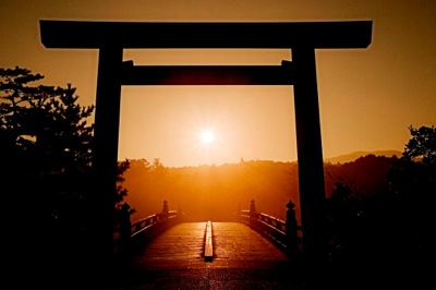 伊勢神宮 日の出