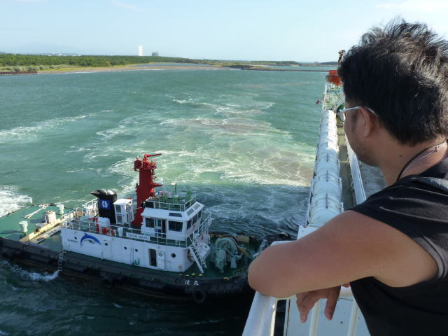 宮崎港 タグボート