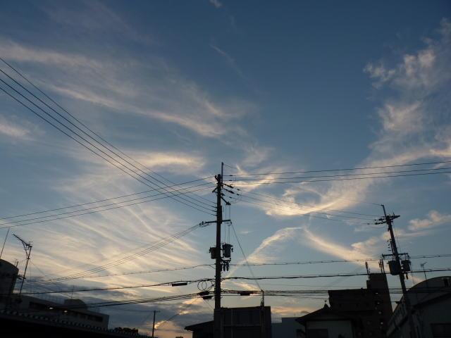 雲の富士山