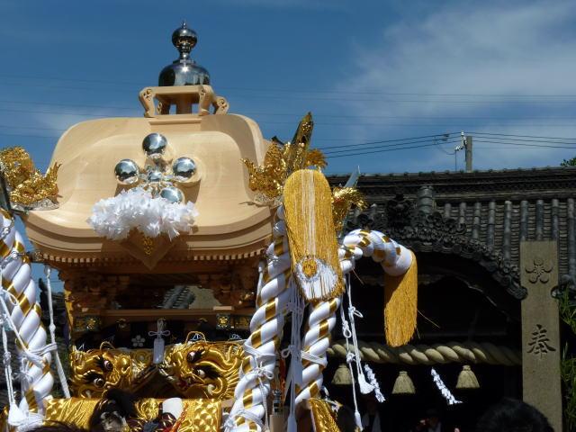 2013 9月16日 中野田新調屋台 入魂式