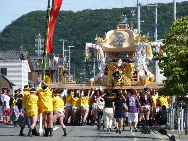 20131 9月16日 中野田新調屋台 入魂式