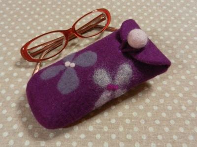 めがね 紫
