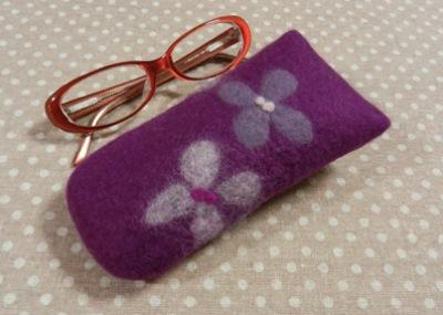 めがね 紫2