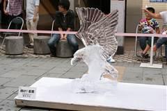 2013氷の彫刻8