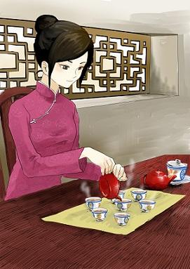 中国茶お点前