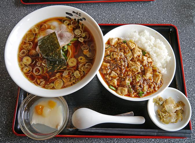 天心麻婆豆腐ランチ1