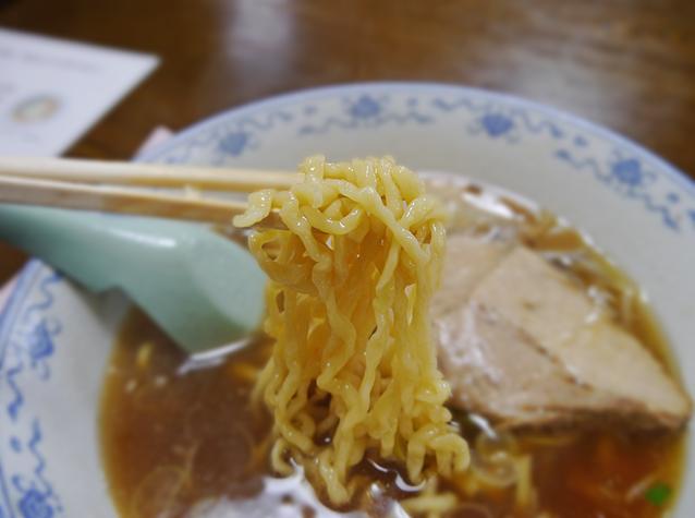 生江食堂チャーシューメン麺