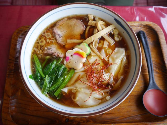 白川ワンタン麺