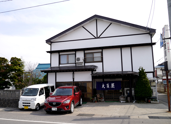 大阪屋外観