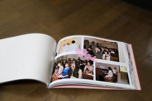 結婚式アルバム1