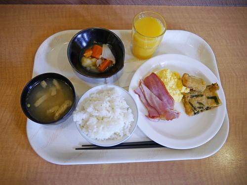 ルートイン朝食
